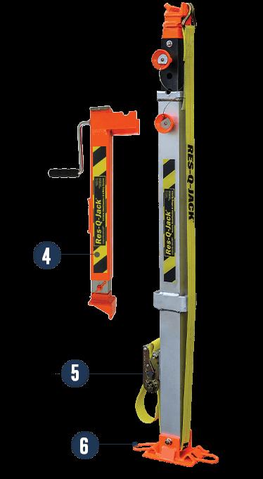 Aluminum X-Strut® Heavy-Duty Stabilization & Lifting Strut
