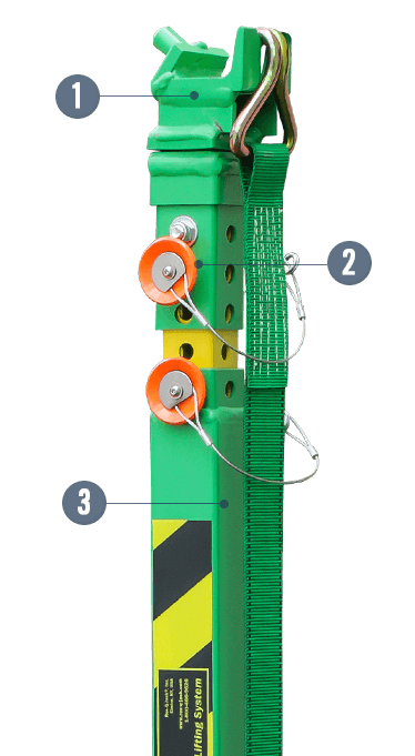 GreenLite® Light-Duty Vehicle Stabilization and Lifting Strut