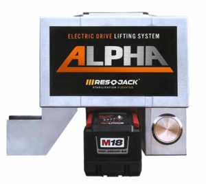 Alpha Electric Drive Lifting System - Side View
